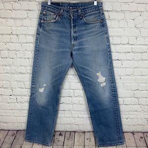 Men's Vintage Levi's 501s Button Fly Jeans